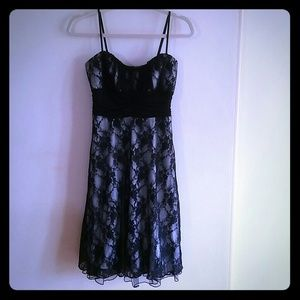 🌴Host Pick🌴Black Lace Sleeveless Dress